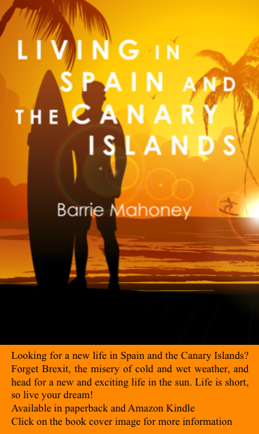 Living in Spain and the Caanry Islands - Advert
